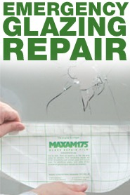 Maxam175 - Emergency Glass Repair Film