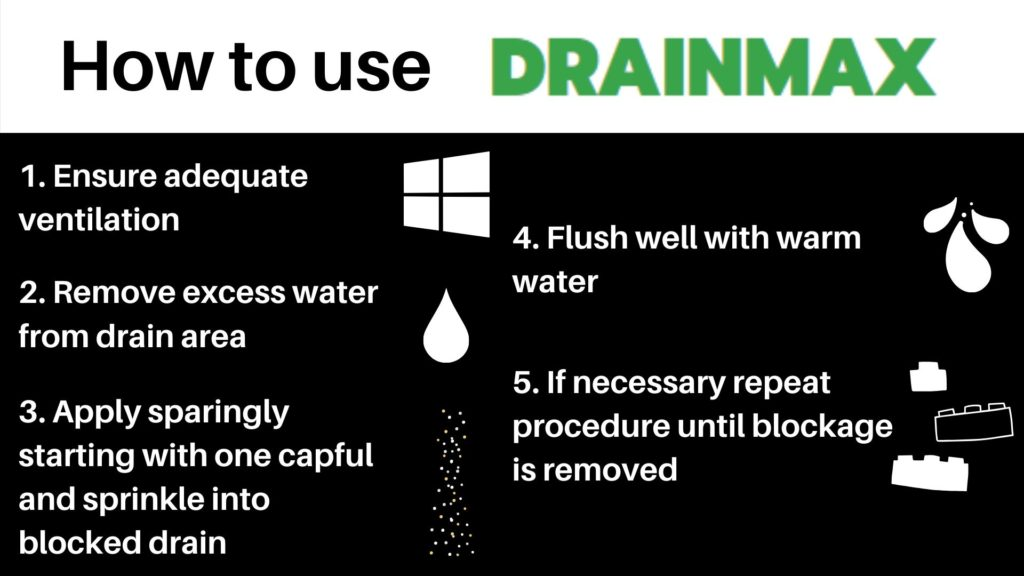 How to use Drainmax