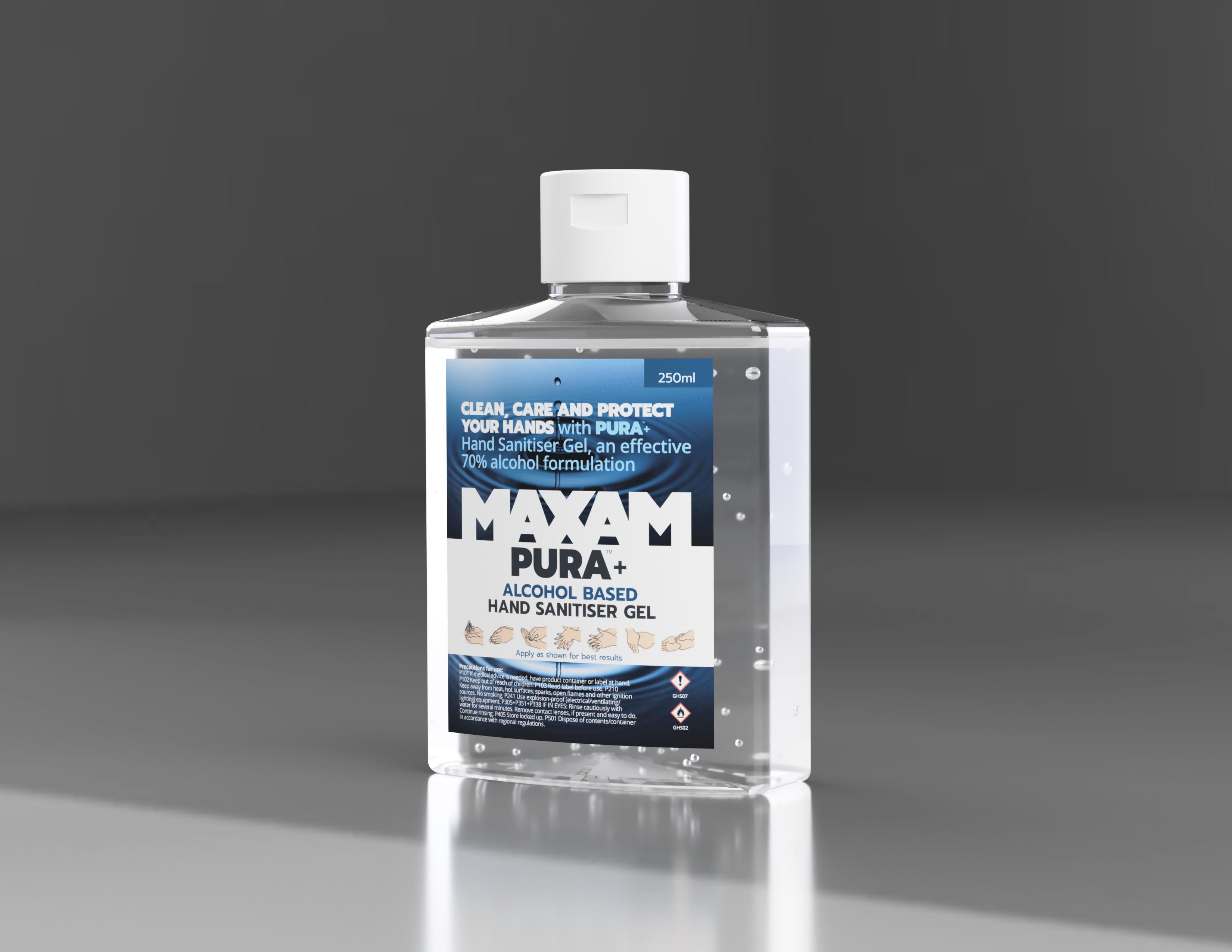 Pura+ Hand Sanitiser Gel
