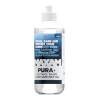 PURA+ Hand Sanitiser Gel (Alcohol) 500ml