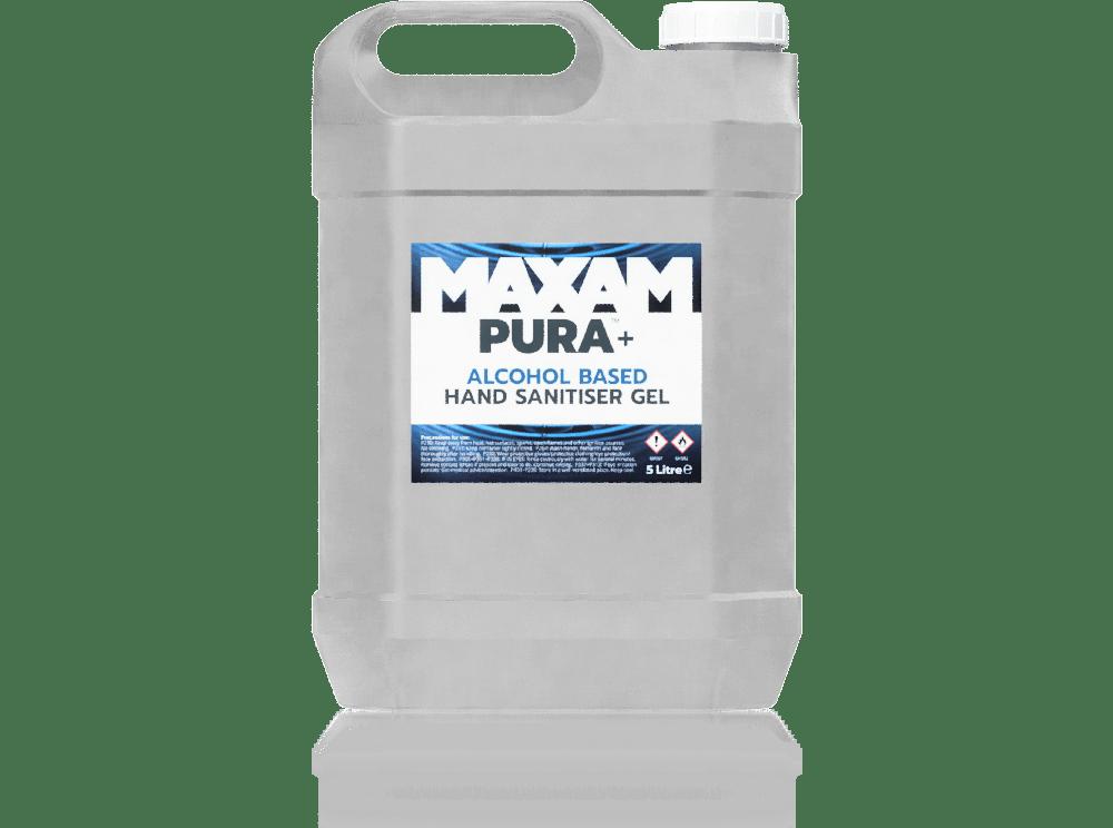 PURA+ Hand Sanitiser Gel (Alcohol) 5 Litres