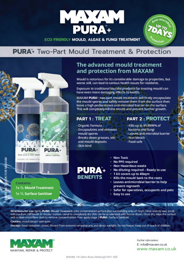 Pura Mould Kit Spec Sheet