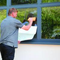 Applying Maxam 175 to Exterior Window